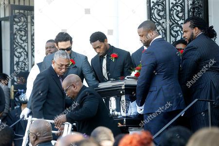Editorial image of Joe McKnight Funeral, New Orleans, USA - 12 Dec 2016