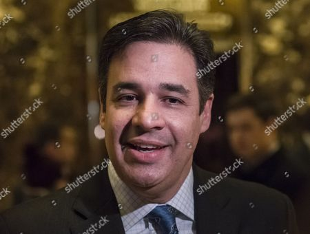 United States Representative Raul Labrador (Republican of Idaho) speaks with the press in the lobby of Trump Tower