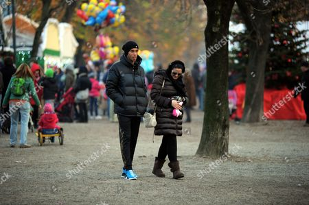 Editorial image of Joao Miranda de Souza out and about, Milan, Italy - 09 Dec 2016