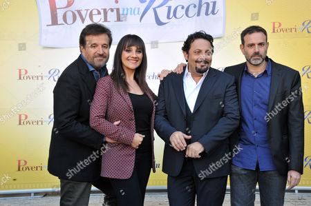 Christian De Sica, Lucia Ocone, Enrico Brignano, Fausto Brizzi