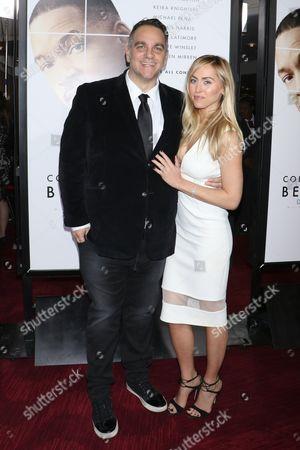 Michael Sugar, producer and wife Lauren Wall Sugar