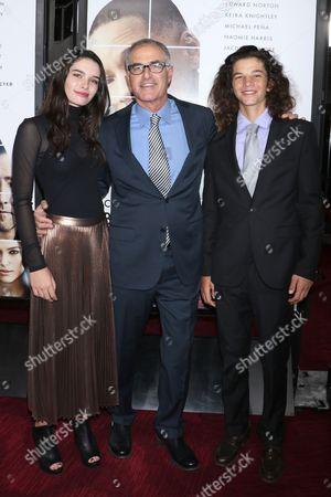 Phoebe Beber-Frankel, David Frankel, Director and Jakob Beber- Frankel
