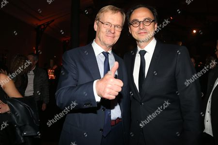 Ari Vatanen and FFSA President, Nicolas Deschaux