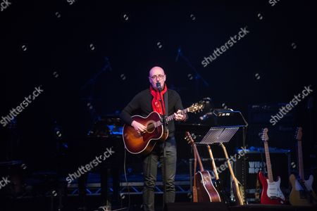 Editorial photo of Mal Pope in concert at the Grand Theatre, Swansea, Wales, UK - 02 Dec 2016