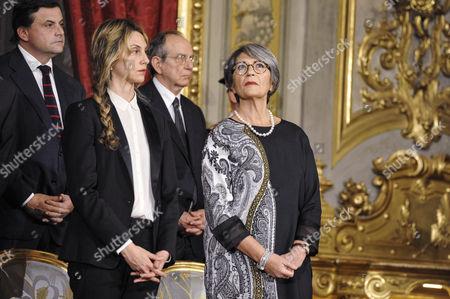 Ministers Marianna Madia and Anna Finocchiaro