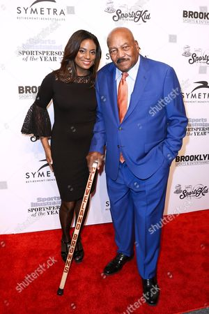 Monique Brown (WIFE OF JIM BROWN), Jim Brown