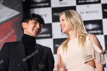 Lee Joon Gi and Ali Larter