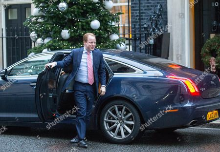 Ben Gummer arrives for the weekly Cabinet meeting at number 10 Downing street.