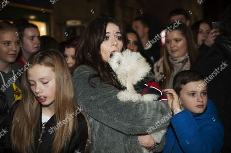 Emily Middlemas with dog Brodie.