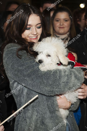 Emily Middlemas with dog Brodie
