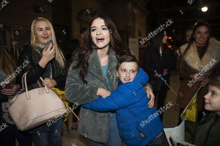 Emily Middlemas with nephew Michael McDonald