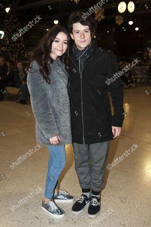 Emily Middlemas and boyfriend Ryan Lawrie