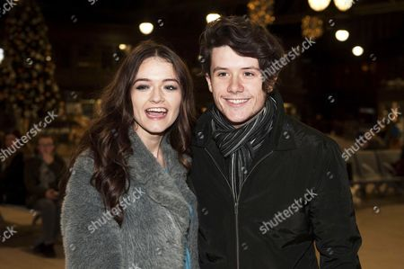 Editorial picture of Emily Middlemas and Ryan Lawrie out and about, Glasgow, Scotland, UK - 13 Dec 2016