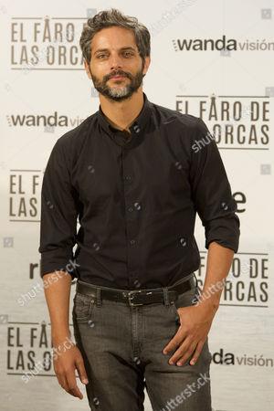 Argentinian actor Joaquin Furriel