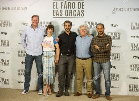 Spanish director Gerardo Olivares, Spanish actress Maribel Verdu and Argentinian actor Joaquin Furriel