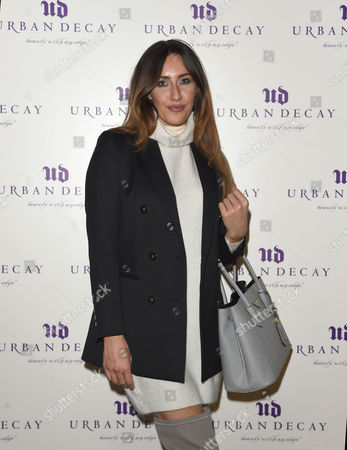 Editorial photo of Urban Decay store launch, Liverpool, UK - 13 Dec 2016