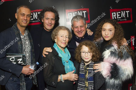 Michael Le Poer Trench, Robert Mackintosh (Producer), Diana Gladys, Cameron Mackintosh, Maximilian Mackintosh and Angel Mackintosh