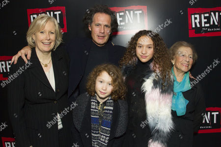 Stock Image of Ingrid Sutej (Producer), Robert Mackintosh (Producer), Maximilian Mackintosh, Angel Mackintosh and Diana Gladys