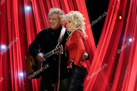 Dolly Parton, Don McLean Dolly Parton poses with Don McLean during a taping for Dolly Parton's Smoky Mountain Rise Telethon, in Nashville, Tenn. Parton has lined up an all-star list of performers for a three-hour telethon to raise money for thousands of people whose homes were damaged or destroyed in Tennessee wildfires
