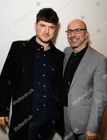 Stock Picture of James Alexandrou and Gary Condes