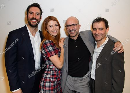 Charles Dorfman, Elsie Bennett, Gary Condes and Nick Barber