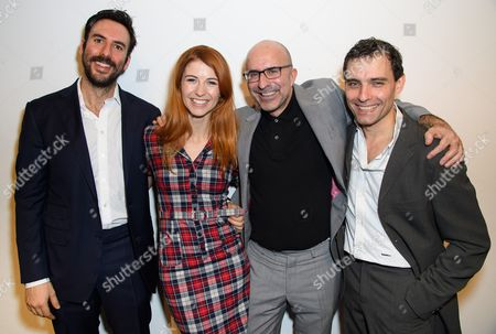 Stock Image of Charles Dorfman, Elsie Bennett, Gary Condes and Nick Barber