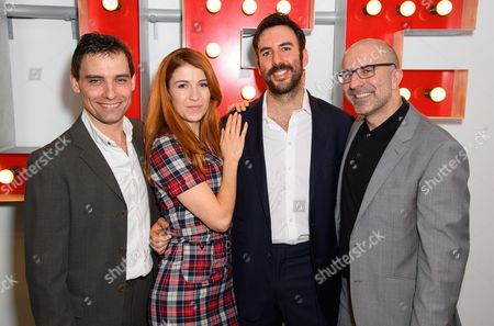 Editorial picture of The Buckland Theatre Company 'LUV' photocall, The Park Park Theatre, London, UK - 13 Dec 2016