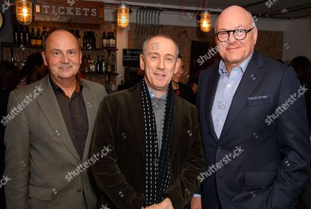 Nick Starr, Nicholas Hytner and Lloyd Dorfman