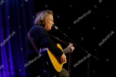 Stock Picture of Don McLean performs during a taping of Dolly Parton's Smoky Mountain Rise Telethon, in Nashville, Tenn. Parton has lined up an all-star list of performers for a three-hour telethon to raise money for thousands of people whose homes were damaged or destroyed in Tennessee wildfires