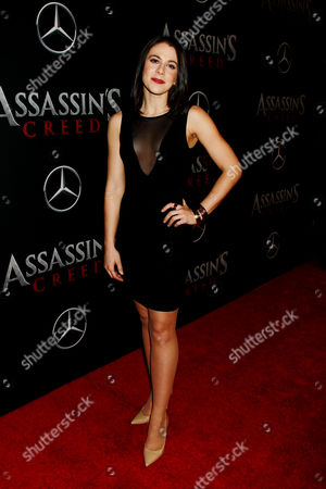 Editorial photo of Twentieth Century Fox and New Regency Productions Present a Special Screening of 'Assassins Creed', New York, USA - 13 Dec 2016