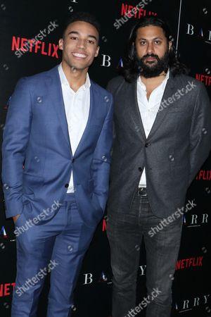Devon Terrell and director Vikram Gandhi