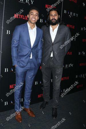 Stock Photo of Devon Terrell and director Vikram Gandhi