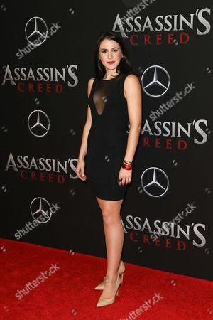 Editorial image of 'Assassin's Creed' film premiere, New York, USA - 13 Dec 2016