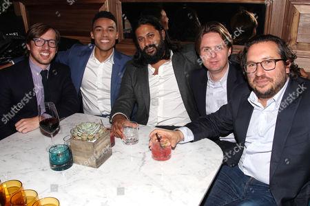 Stock Image of Ben Stillman, Devon Terrell, Vikram Gandhi, Teddy Schwarzman, Dana O'Keefe
