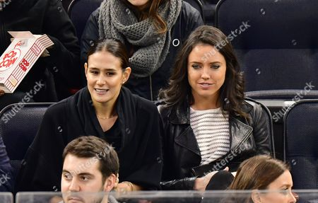 Editorial image of Celebrities at Chicago Blackhawks v New York Rangers, NHL ice hockey match, Madison Square Garden, New York, USA - 13 Dec 2016