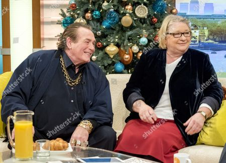 Bobby George and Rosemary Shrager