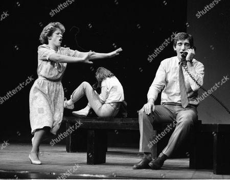 Jean St. Clair, Sarah Scott (in background) and Ron Aldridge.