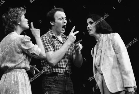 Jean St Clair as Sarah Norman, Howard Barnes as Orin Dennis and Katherine Hume as Edna Klein.