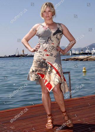 British Actress Sara Stockbridge Attends the 'The Making of Plus One' Photocall During the 62nd Edition of the Cannes Film Festival in Cannes France 16 May 2009