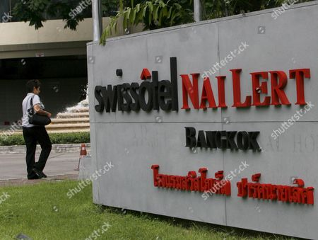A Thai Woman Walks Past the Swissotel Nai Lert Park Hotel Logo in Bangkok Thailand 05 June 2009 Us Actor David Carradine 72 Best Known For His Roles in the 1970s Tv Series 'Kung Fu' and the Kill Bill Movies Has Been Found Dead in Bangkok On 04 June 2009 Media Reported