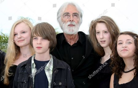 Editorial picture of 'Das Weisse Band' Photocall - 21 May 2009