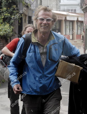 American Climber Conrad Anker Arrives at a Hotel in Kathmandu After Returning From the Mt Everest Base Camp Nepal 20 June 2007 Anker and the British Climber Leo Houlding Tried to Recreate British Mountaineer George Mallory's Pioneering Attempt to Climb Everest Using Only 1920 Gear But Ended the Plan at 7 500 Meter High Due to the Cold