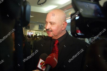 Indian Film Director Rakesh Roshan Answers Questions to Reporters Upon His Arrival For the Screening of 'Baabul' in Conjunction with the 2006 Global Indian Film Awards in Kuala Lumpur Malaysia Thursday 07 December 2006
