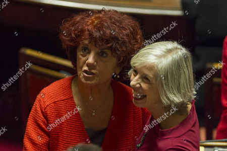 Minister of Education Valeria Fedeli and Stefania Giannini