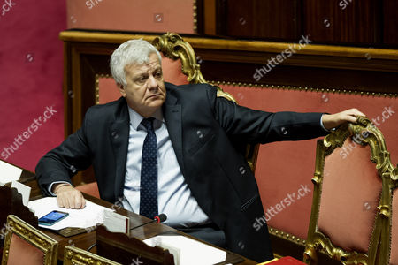 Editorial picture of Government confidence vote, Rome, Italy - 14 Dec 2016
