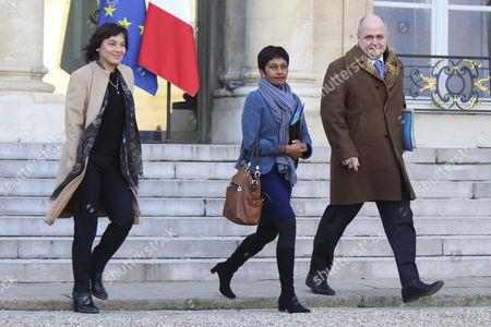 Annick Girardin, Ericka Bareigts and Bruno Le Roux