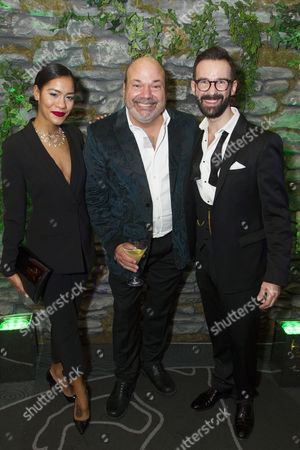 Lucy St Louis, Casey Nicholaw (Director/Choreographer) and Ben Clare