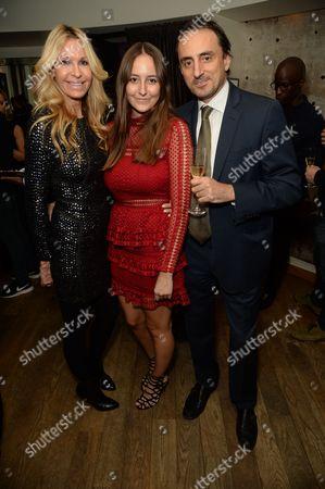 Stock Photo of Melissa Odabash, Alaia de Santis and Nicolas De Santis