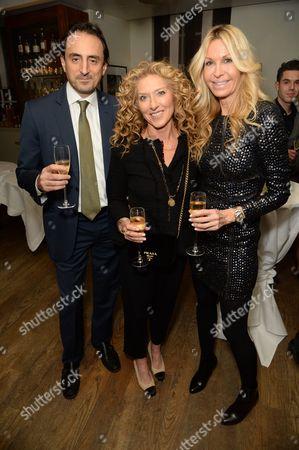 Editorial picture of The Champagne Bureau's Le Prix Champagne de la Joie de Vivre, Hush, London, UK - 14 Dec 2016