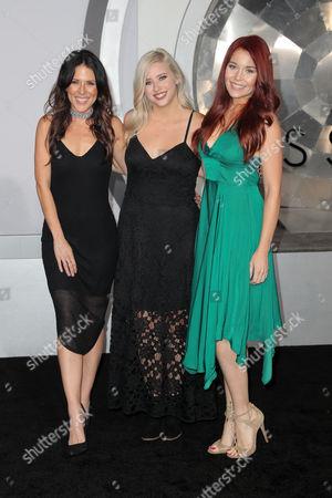 Joslyn Davis, Lily Marston and Erin Robinson